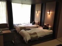 新和洋室・ベッドルーム(熊本館)