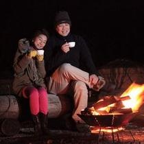 テンゲルの新名物〜焚き火⑤