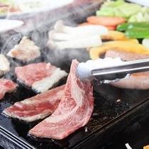美味しいお肉と野菜を召し上がれ〜