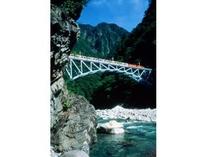 黒部峡谷鉄道(後曳橋)