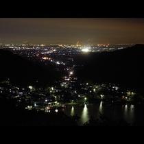 名田忠山荘から望む夜景★