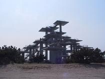 富津岬 百年記念塔