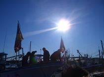 正月に行われる舟祝い