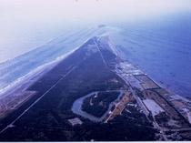 富津岬 航空写真