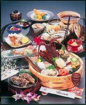 海女の桶盛り 大漁 『秋〜冬メニュー』