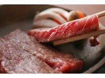 アツアツお肉