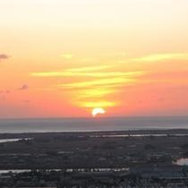 第一展望台から見た日の出