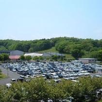 無料大型駐車場