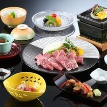 ◆猪名野_三田牛陶板焼き会席