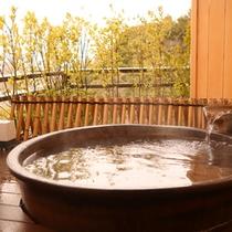 客室_貴賓室の露天風呂