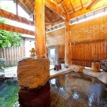 広々、ゆったり貸切露天風呂