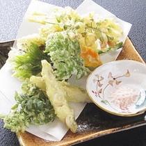 山菜・きのこの天麩羅