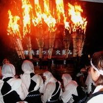 毎年10月の僧兵まつり