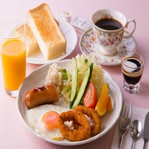 【洋朝食】和食または洋食からお好みのご朝食をお選びいただけます。