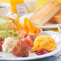 【選べる4種の朝食】《洋モーニング》 ★ドリンクバー付き★