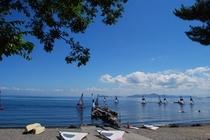 びわ湖自然体験(ディンギー)