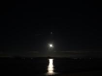 琵琶湖の月明かり