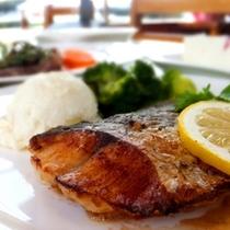 【魚料理】牛窓でとれた新鮮な魚を使用します♪