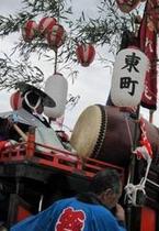 【牛窓祭り】太鼓
