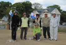 【グランドゴルフ】記念撮影