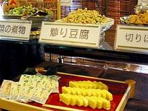 ■朝食:手づくりの惣菜メニューはホッとするおふくろの味
