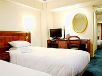 ■客室:ゆとりのあるツインルーム