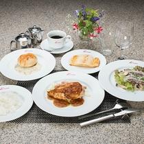 *夕食一例_コース風ディナー※料理は季節毎に内容が変わります。