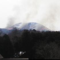 *【大室山山焼き】③山全体が燃え上がっていきます!