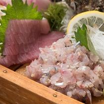 *【手配】新鮮な地魚の船盛りをご堪能ください。