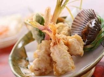 【揚げ物例】ショウガの天ぷら。新緑の頃の美味