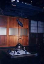 食堂(囲炉裏)
