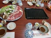 ひるぜん高原野菜と、オーストラリヤ牛肉バーべキュー