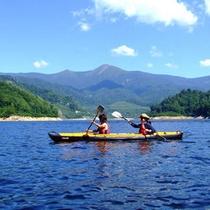 奈良俣湖カヌー