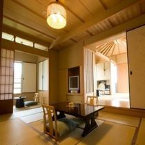 ■露天風呂付客室 槐(えんじゅ) 1