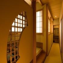 ■露天風呂付客室 桂(かつら)1
