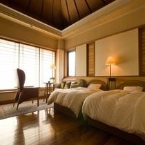 ■展望ひのき風呂付洋室 蓬莱(ほうらい)1