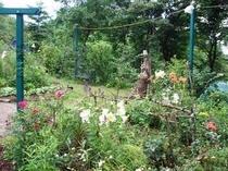 ガーデンとオブジェ