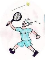 テニスイラスト