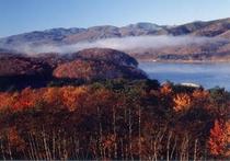 羽鳥湖紅葉
