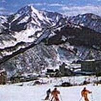 石打丸山スキー場は徒歩1分!スキーもスノボも最高の立地です(^-^)V