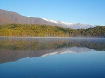 青木湖より