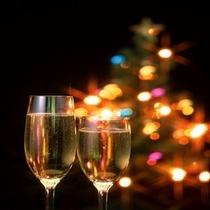 クリスマスシャンパン