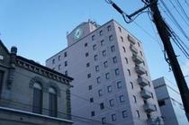 ホテル南側