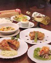 ある日の夕食:洋食メニュー