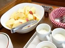 朝食バイキング(青森りんご)