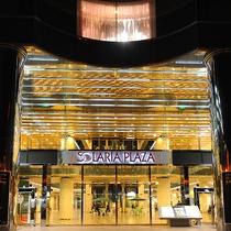 ソラリア西鉄ホテルはソラリアプラザ館内6Fにございます