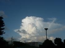 沖永良部の雲