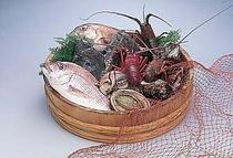 漁師の宿の親父さんが獲る新鮮素材はいうことナシ!