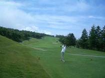 菅平グリーンゴルフで真夏でも爽快プレー