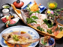 大震災復興応援プラン 夕食イメージ